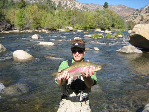 Kern river fly fishers fishing report for Kern river fishing report